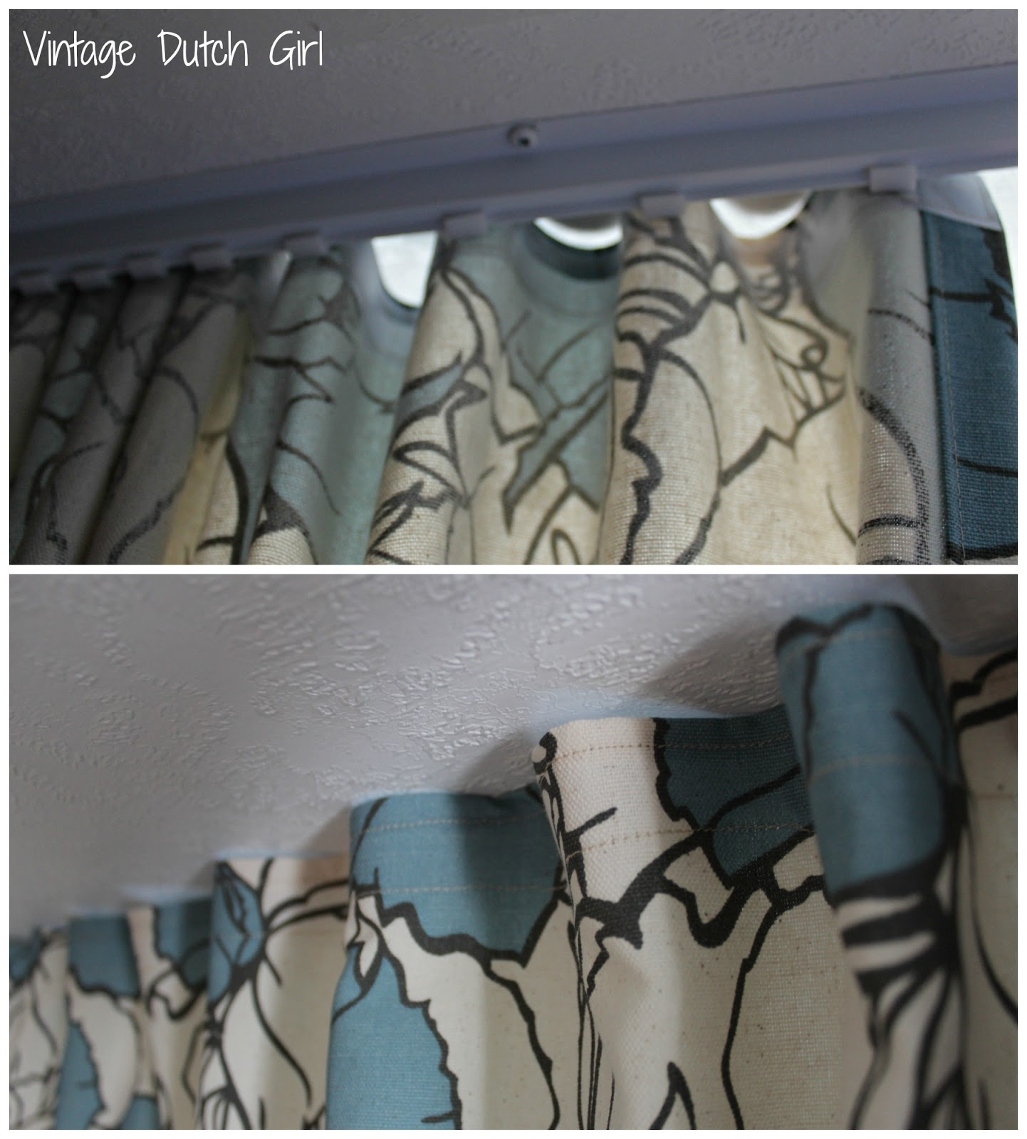 Privacy Curtain For Bedroom Vintage Dutch Girl Travel Trailer Makeover Part 8 Master