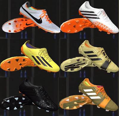 PES 2014 6 New Boots by mady5
