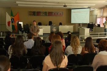 Palestra sobre LDO na Escola do Legislativo