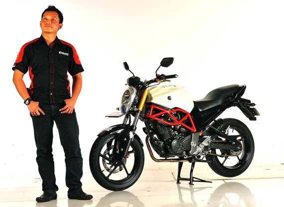 Modif Rem Cakram Belakang Yamaha Byson