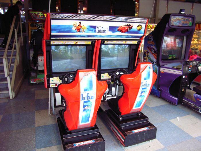 outrun 2 arcade machine
