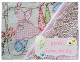 """Gentle Domesticity"" 2016 BOM"