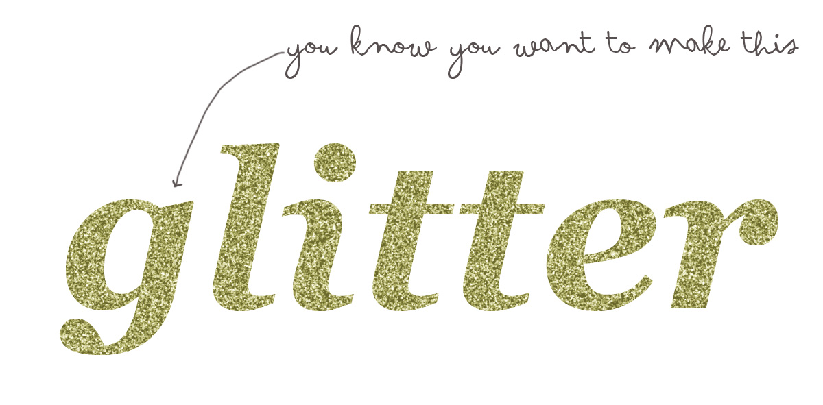 how to make glitter text: / LARK+LACE | A Philadelphia Fashion and ...