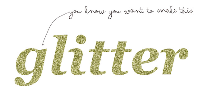 glitter, text, photoshop, how to, make,