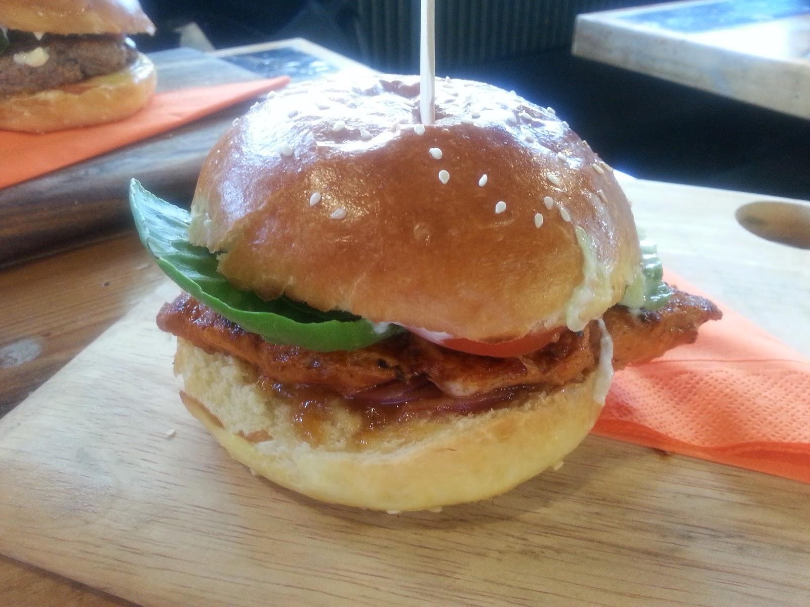 e'nuf Burger Bar, burger, onion rings, chips, Glenelg