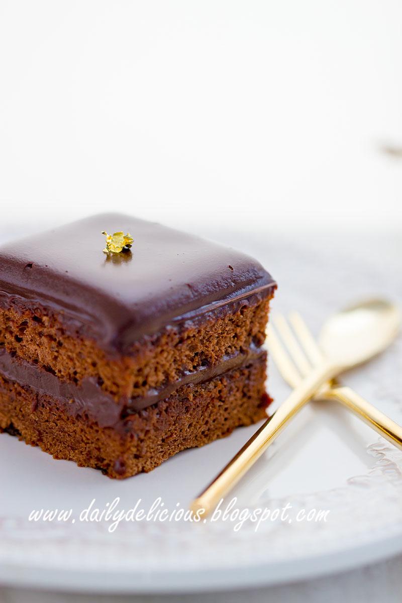 Шоколадный классический кекс рецепт 70