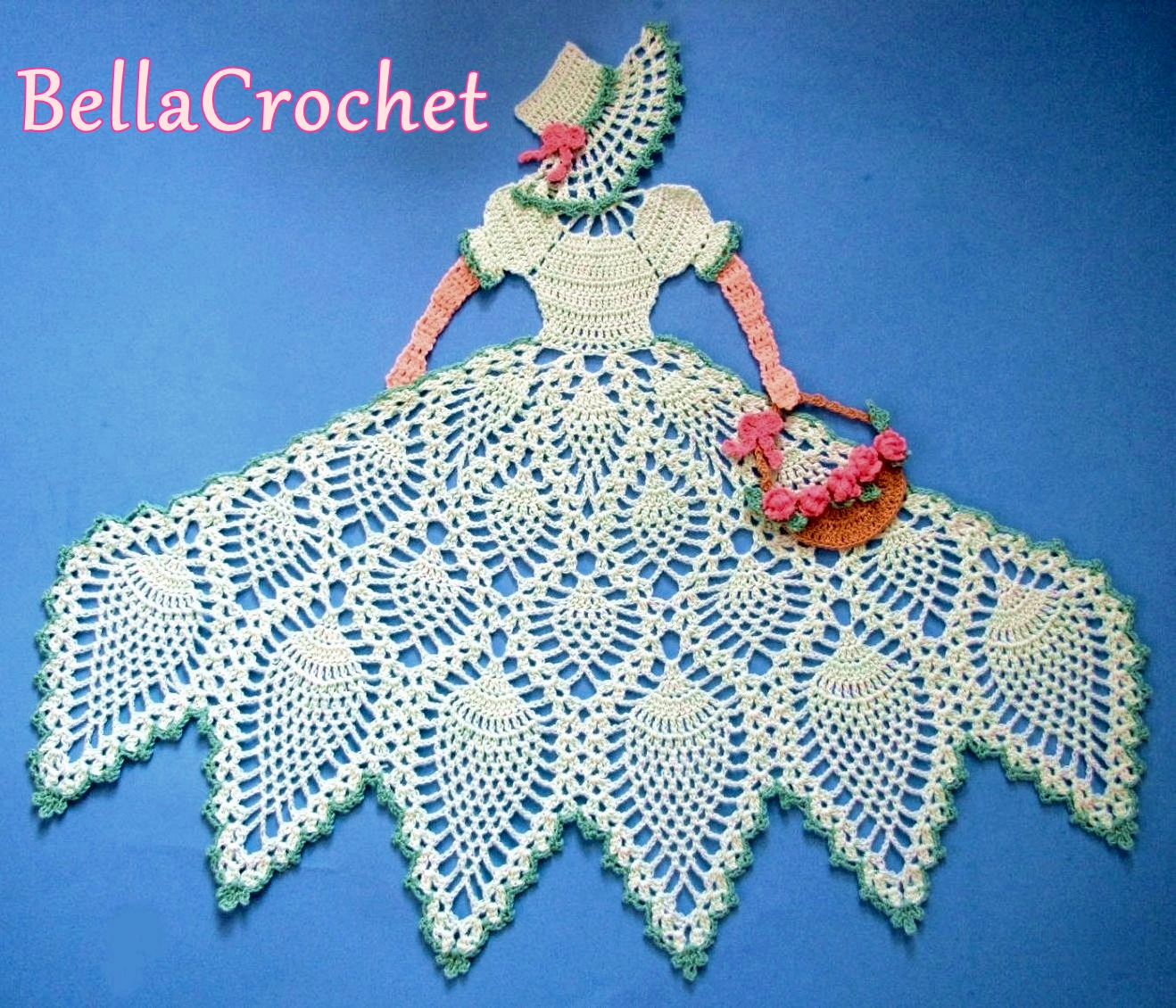 Bellacrochet sweet southern belle a free crochet pattern for you skill level experienced for those who are adept at working with size 10 thread and steel hooks and who have an advanced knowledge of crochet bankloansurffo Image collections
