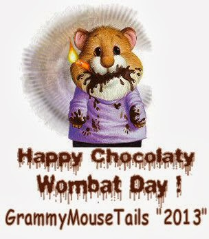 happy wombat day party tag image