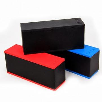 Cube Portable Stereo Speaker