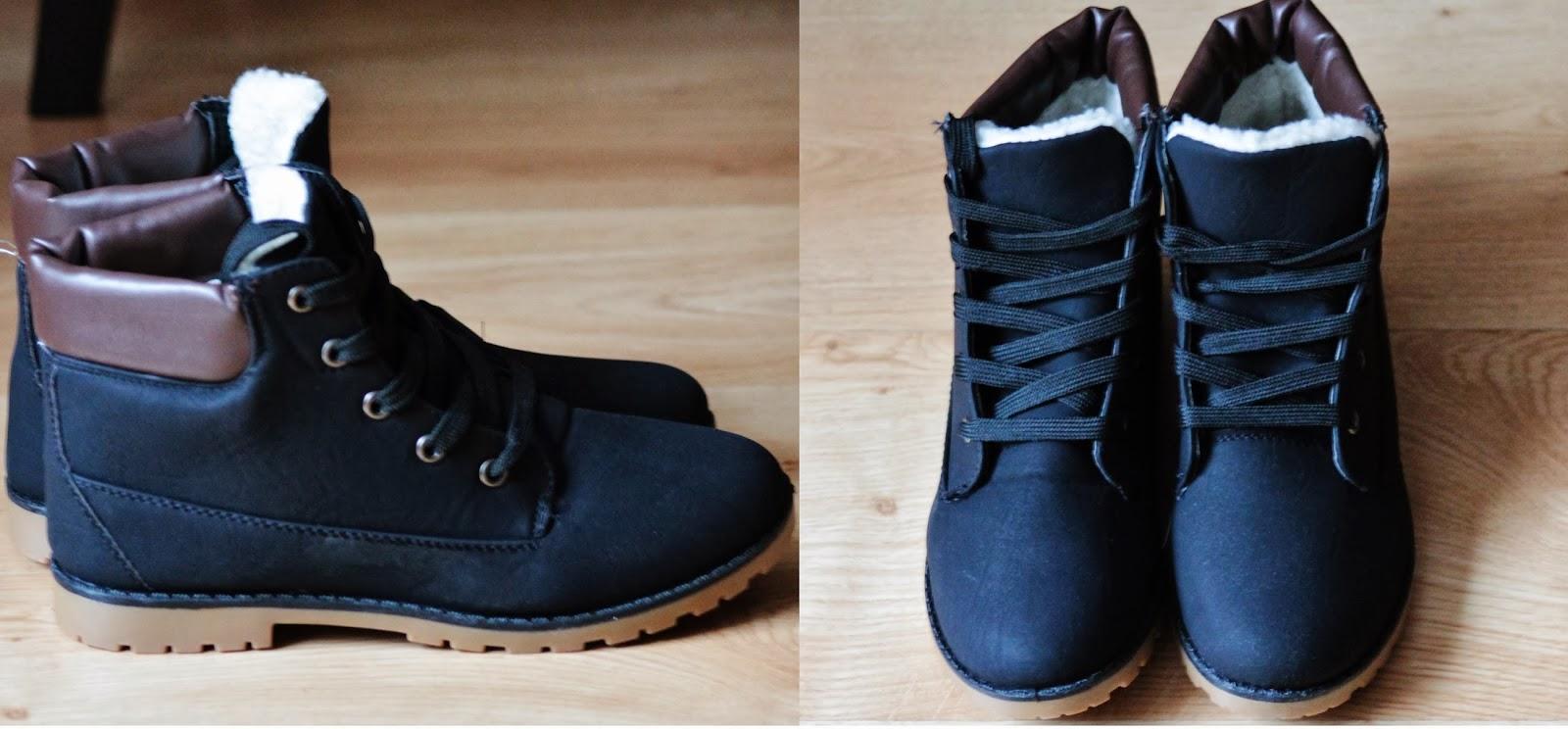 buty z kożuszkiem