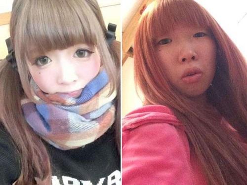 Trước đây, câu chuyện của một chàng trai Trung Quốc quá sốc và bỏ người yêu khi gương mặt thật của bạn gái khác xa trên mạng đã xuất hiện khá nhiều.