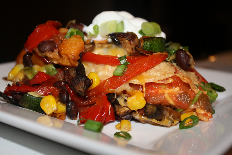Jourdan Leigh in the kitchen: Stacked Roasted Vegetable ...