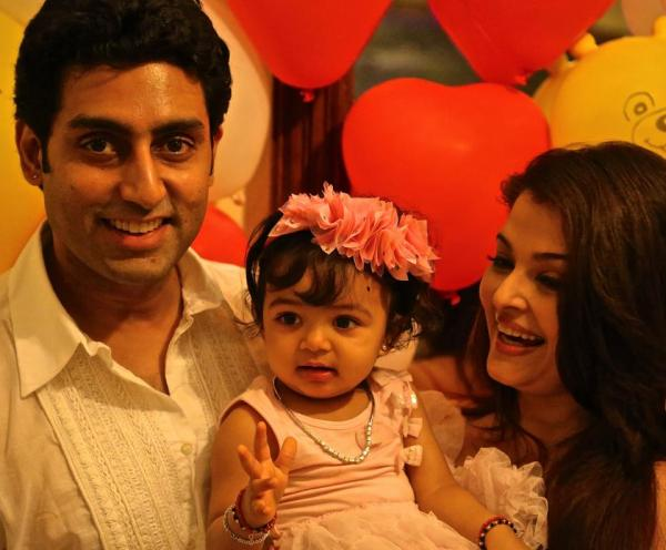 Aishwarya Rai daughter Aaradhya Birthday Photos