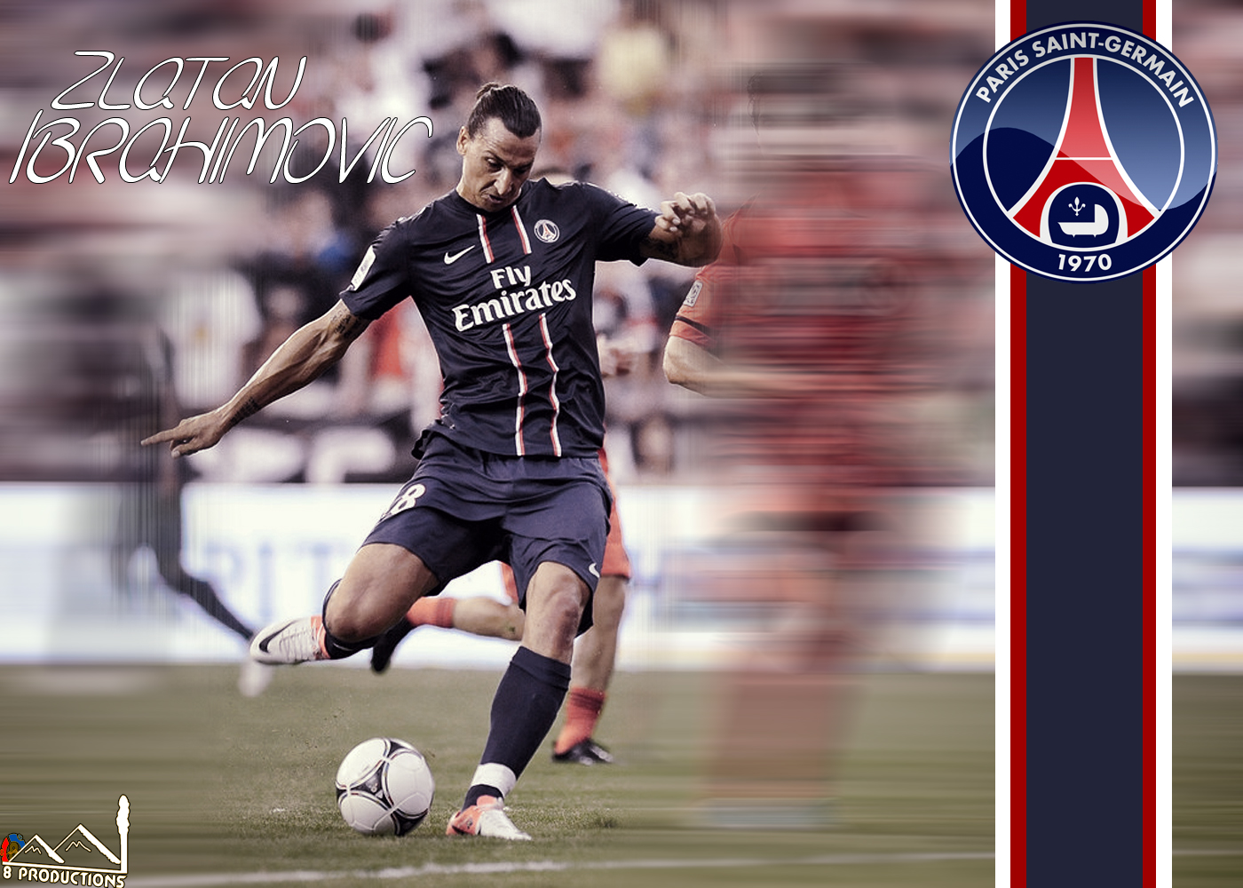 Productions Zlatan Ibrahimovic PSG