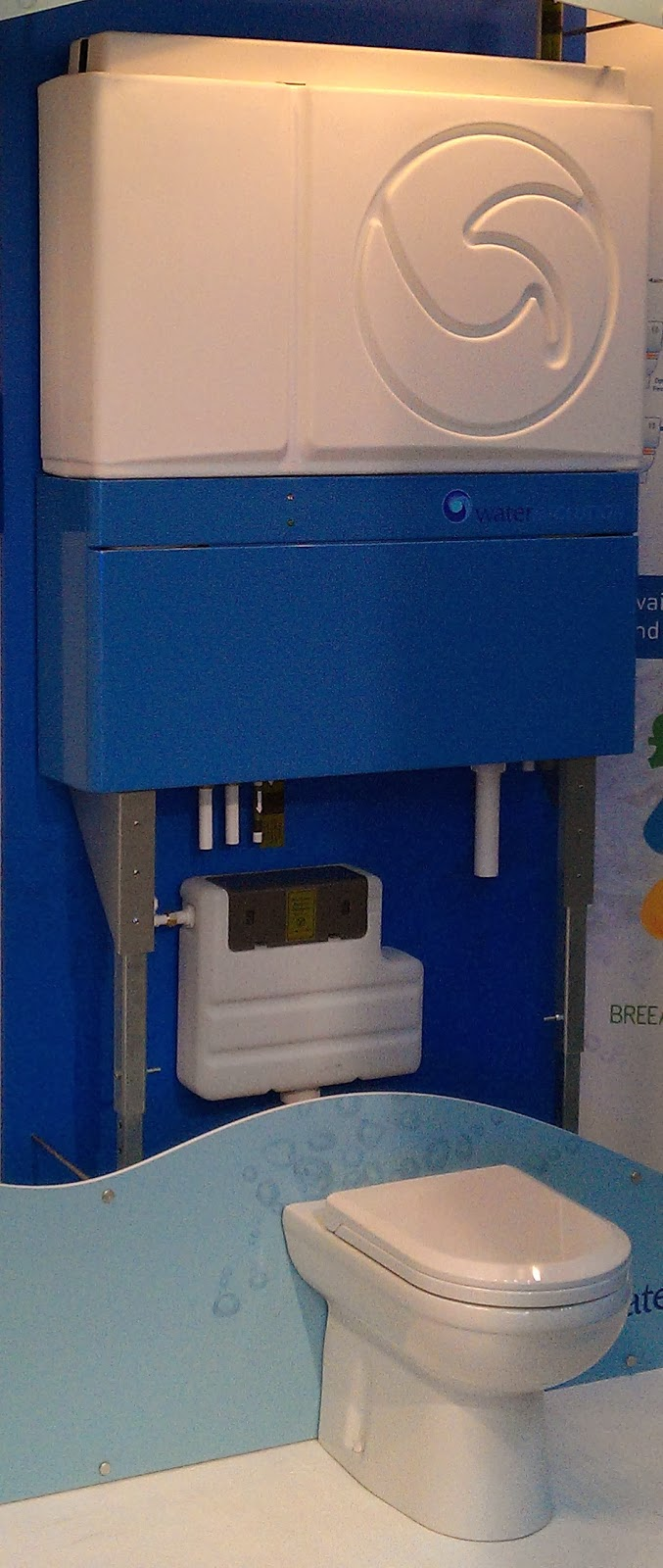 Eco-toilets reduce household water consumption