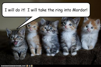 I will take the ring to Mordor!