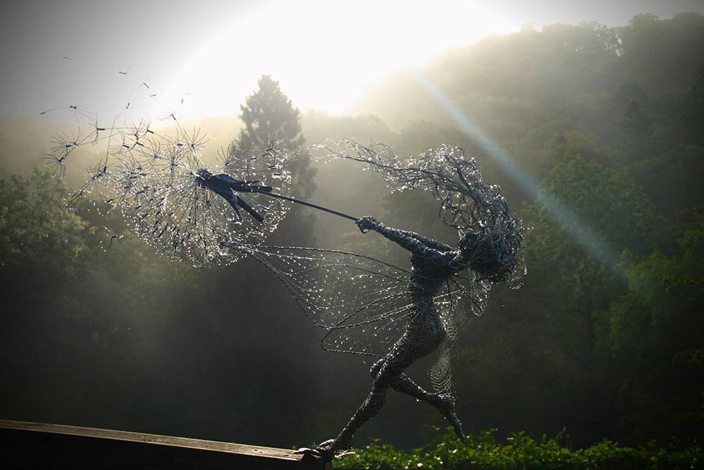 Esculturas de Fadas - Robin Wight