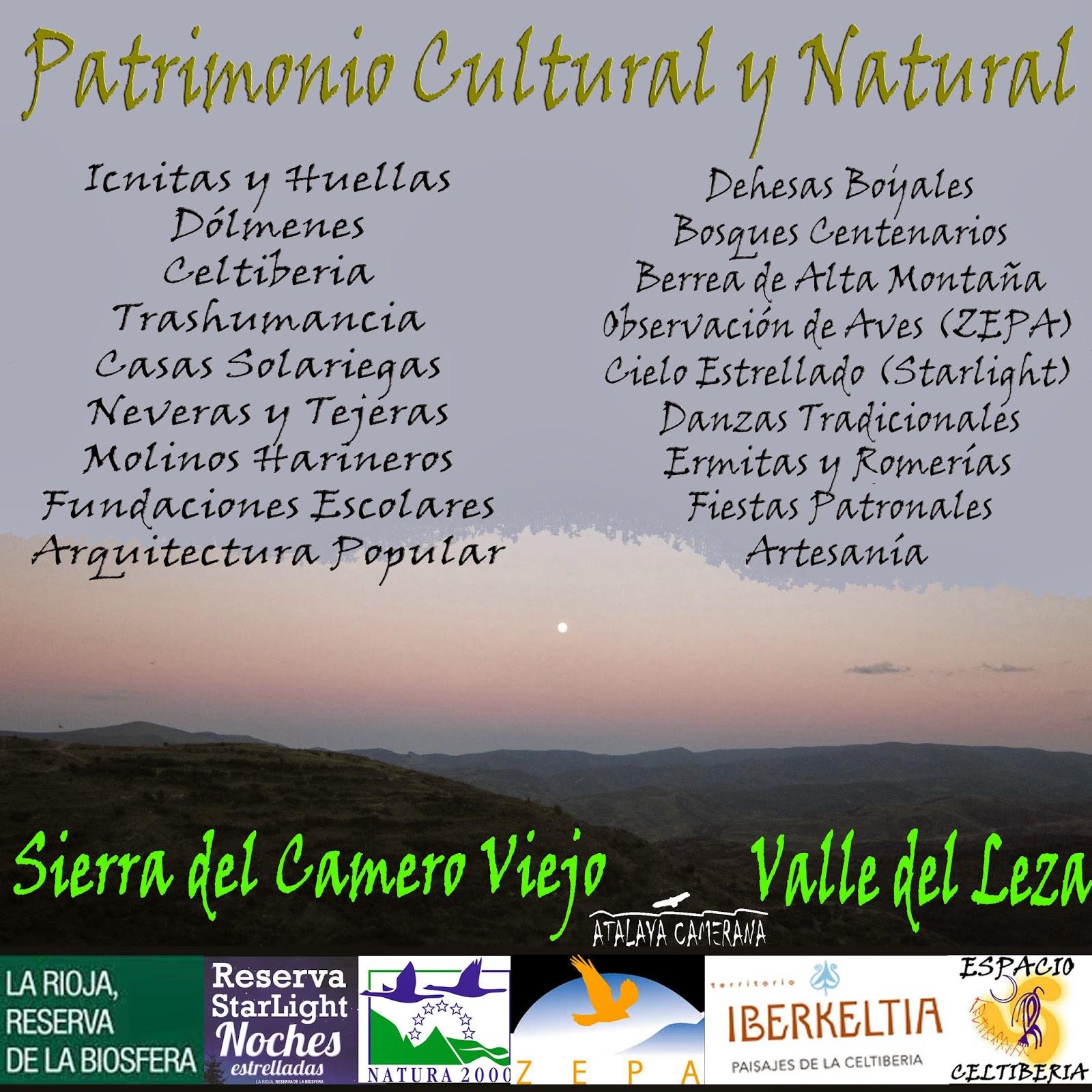 Sierra del Camero Viejo - Valle del Leza: Patrimonio Cultural y Natural.
