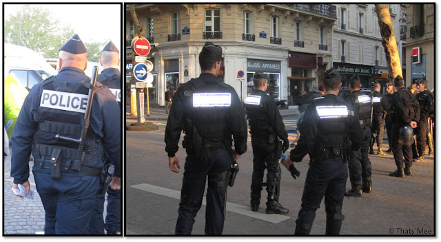 1er Mai - La Bastille Paris Police et gendarmes