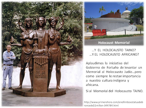 Apoyen  al  Memorial  del  Holocausto  Taino