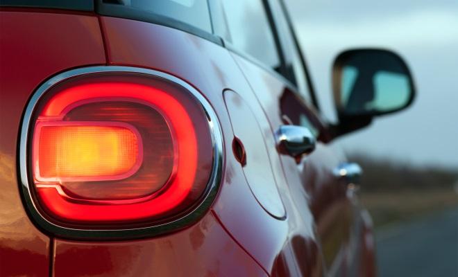 Fiat 500L rear lamp cluster