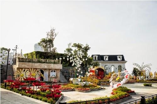 Lễ hội Hoa lần đầu tiên được tổ chức tại Bà Nà Hills