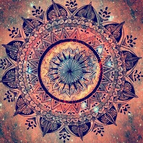 mandala målarbok panduro