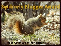 The Squirrely Blogger Award