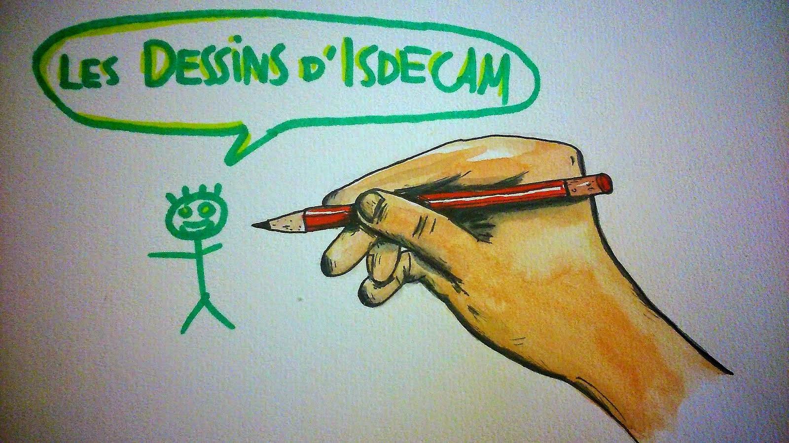Les dessins d'ISDECAM