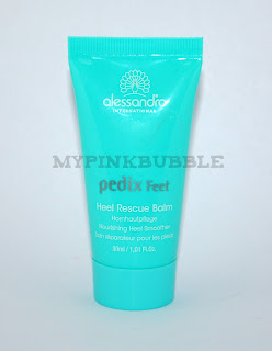 Alessandro: Pedix feet Heel Rescue Balm