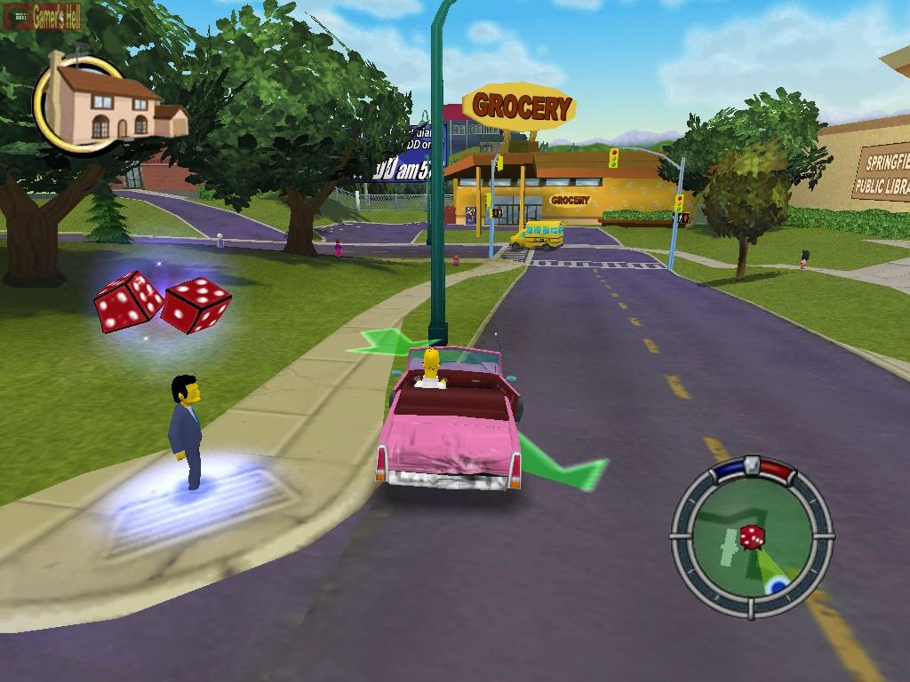 Simpsons Hit And Run pc torrent download