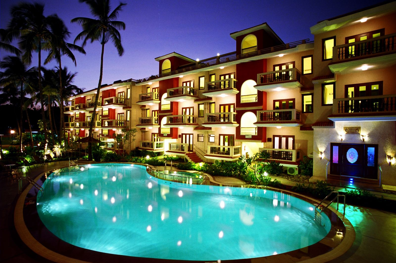 Hotel having casino in goa