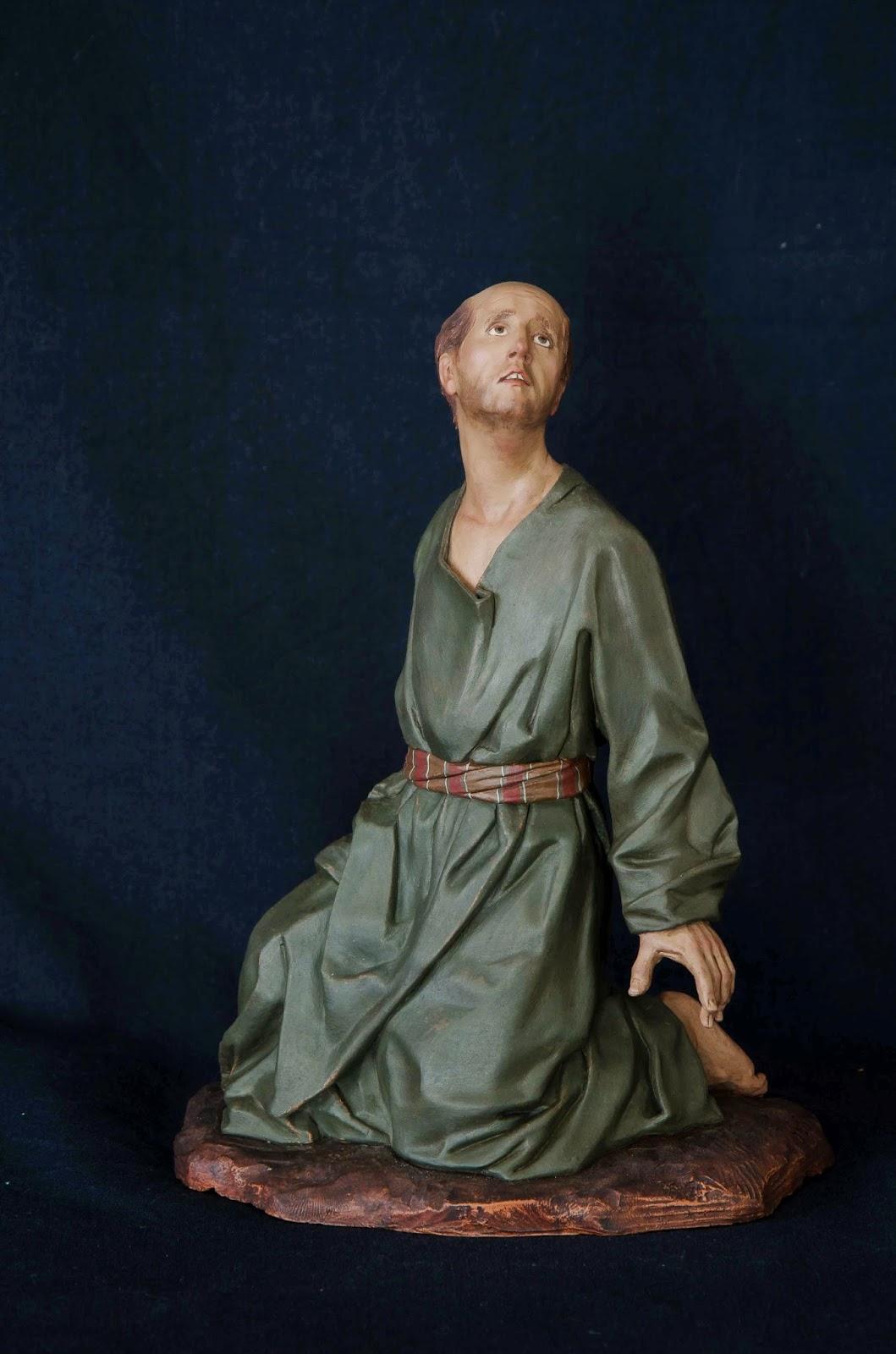 Belén presepe nativity krippe Arturo Serra escultura barro cocido 19