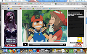 While Ash and May's Pokémon attack each other, .