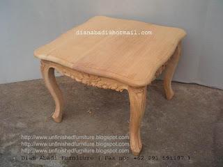 Furniture klasik meja kopi ukir klasik mahoni supplier meja klasik jepara unfinished meja kopi mentah