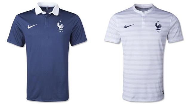 Camisetas selección Francia Mundial 2014