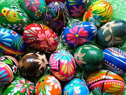 Top 10 Great Recipes For Dyeing Easter eggs