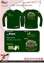 Baju green generation SMAN 5 (new edition) :))