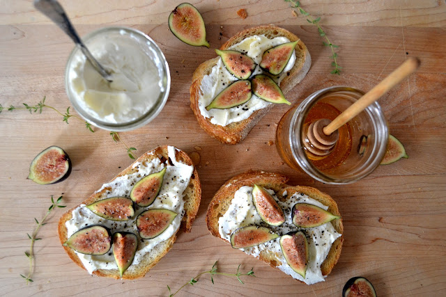 Heart of Gold: A Thanksgiving Appetizer:: Fig and Ricotta ...