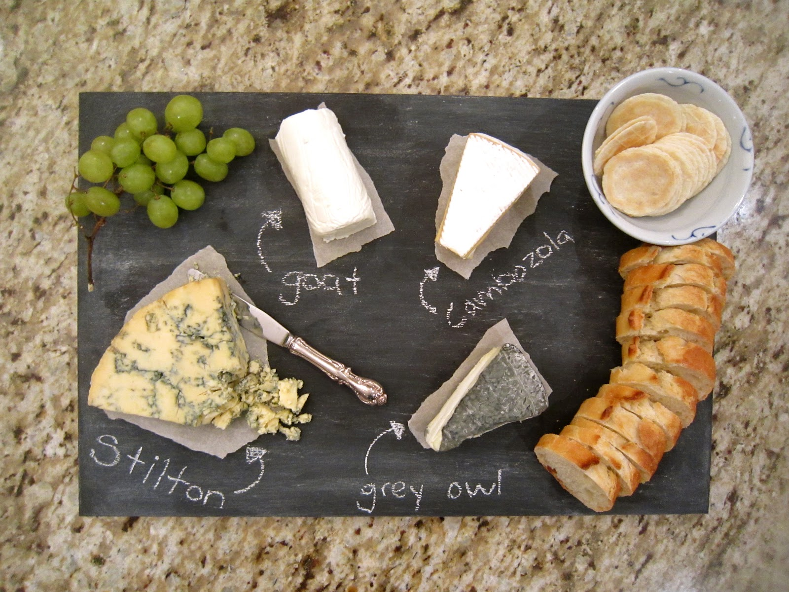 Sara Russell Diy Chalkboard Cheese Platter & Diy Cheese Plate - Castrophotos