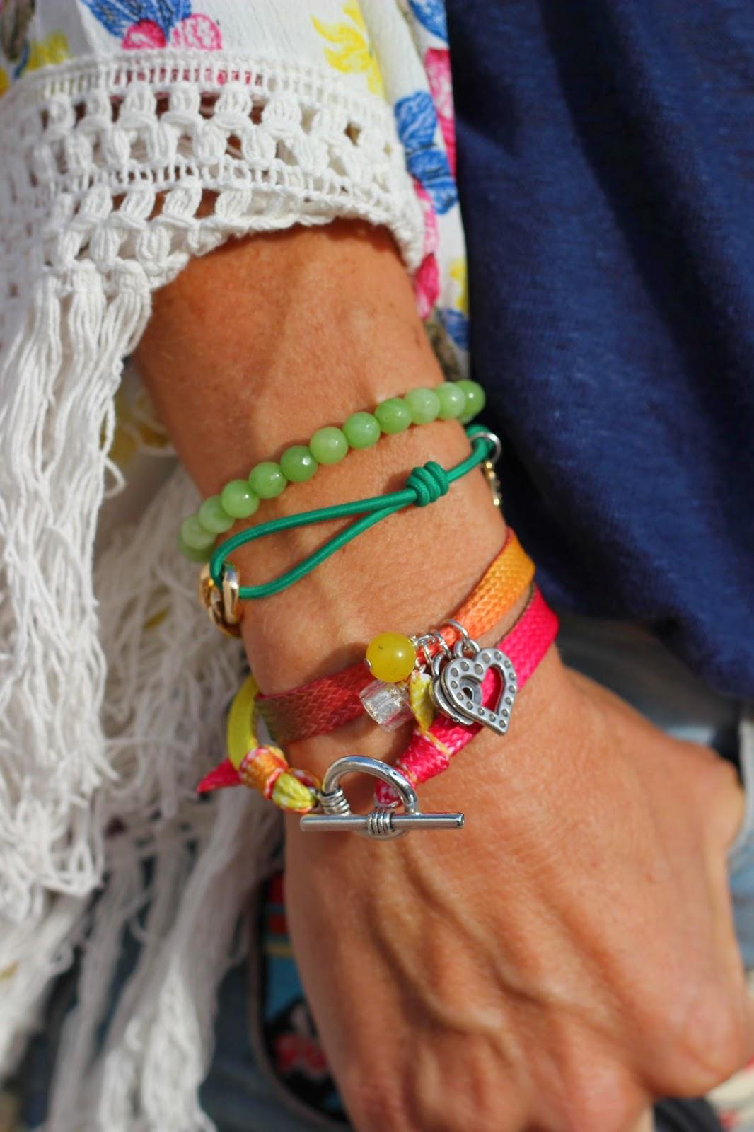Cuchicuchi pulseras - Modelo Cloe - Pulseras 2014