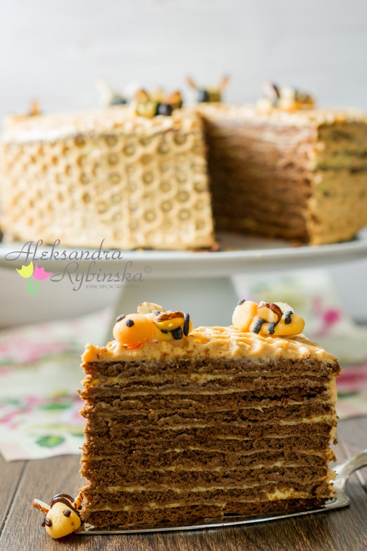 Honeycomb Cake With 10 Layers Step By Step Photos