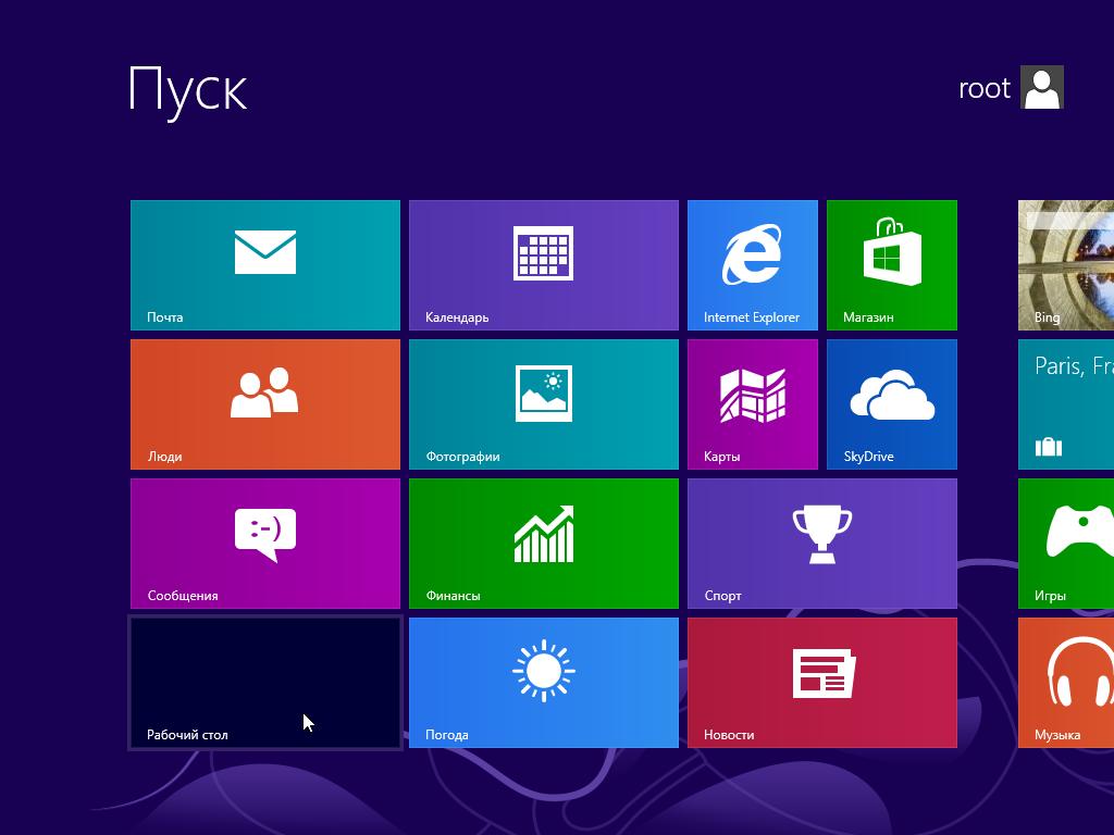 Изменение сочетания клавиш языка Windows 8 - Вход на рабочий стол с плиток