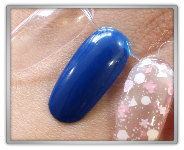 Jolse Nature Republic Etude House Haul Review Enamelting Gel Nails #35 blue navy