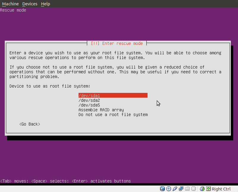 how to install missing grub from ubuntu live cd or usb