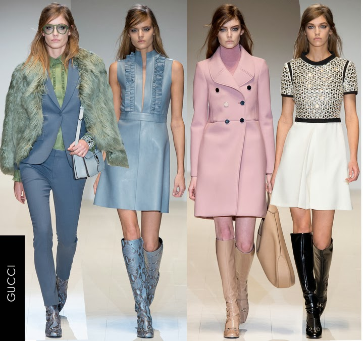 gucci womens fall 2014 dresses
