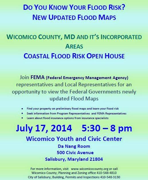how to read fema flood map