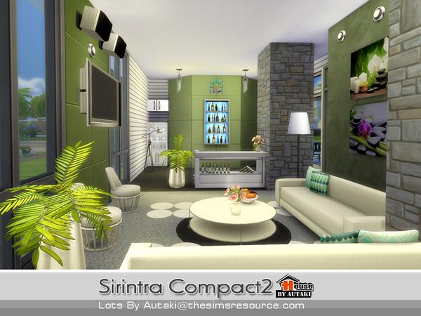 Casa moderna sirintra compact the sims 4 pirralho do game for Casas sims 4 modernas