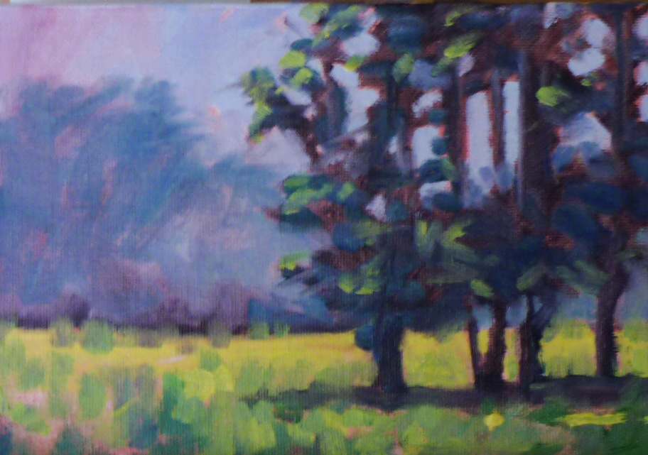 Painting Small Impressions: June 2011