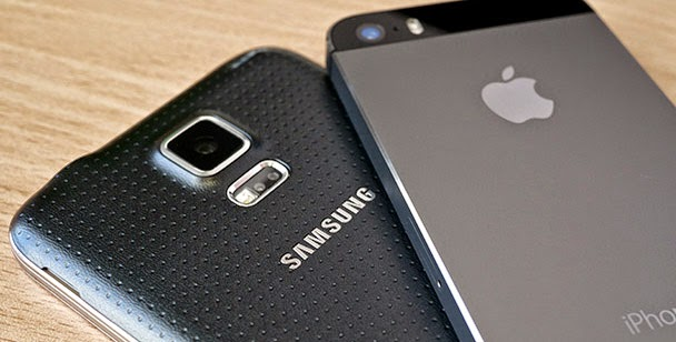 Samsung Back Were Violating Patents Apple